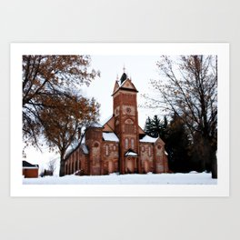 LDS Tabernacle Art Print