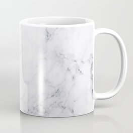 Luxury White Marble Coffee Mug