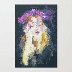 Path - Abstract Portrait Canvas Print