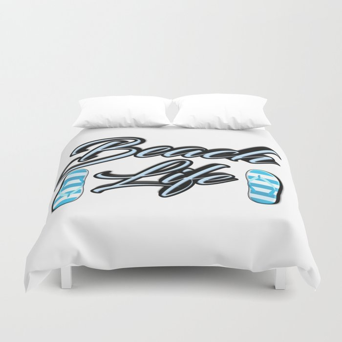 Beach Life Duvet Cover