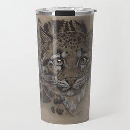 Clouded Leopard Travel Mug