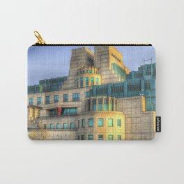 SIS Secret Service Building London Carry-All Pouch