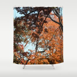 Warm Muster Shower Curtain