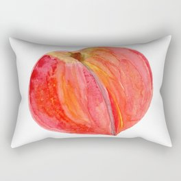 big peach Rectangular Pillow