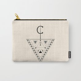 Moroccan and Algerian inspiration - Fubula and berber ornaments Carry-All Pouch