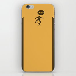 WTF? Skate! iPhone Skin