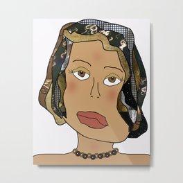 Digital Paper Doll 02 Metal Print