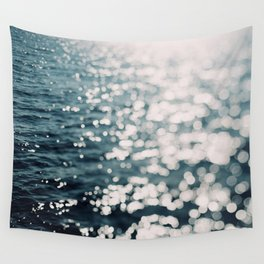 Sea Spark Wall Tapestry