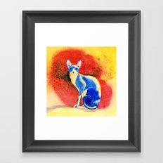 Sphynx Cat #3 Framed Art Print
