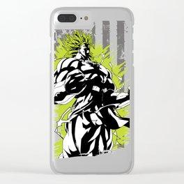 American super saiyan Clear iPhone Case