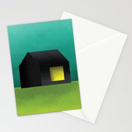 Simple Housing | House in a lowland Stationery Cards