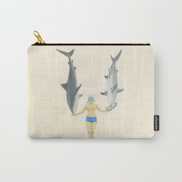 The Shark Charmer Carry-All Pouch