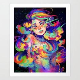 RainbowFish Art Print