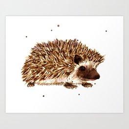 Prickly Paul Art Print