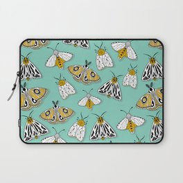 MAGIC MOTHS on Turquoise Laptop Sleeve