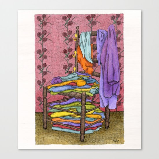 The Closet Canvas Print
