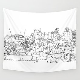 Brooklyn Rooftop Wall Tapestry