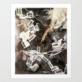 Correspondence Art Print