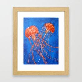 Dance of the Sea 2 Framed Art Print