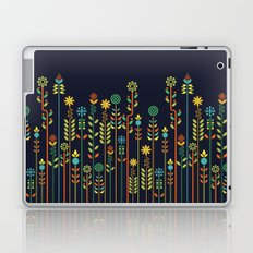 Overgrown flowers Laptop & iPad Skin