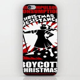 Christmas Resistance  iPhone Skin