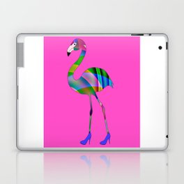 Chic Flamingo Laptop & iPad Skin