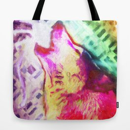 You're A Wolf  Tote Bag
