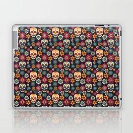 Day Of The Dead Pattern | Dia De Los Muertos Skull Laptop & iPad Skin