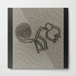 NAZCA LINES MONKEY NAZCA LINES ART Geoglyphs Metal Print