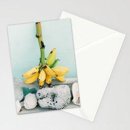 Tropical Bananas - Bahamas - Travel Photography Stationery Cards