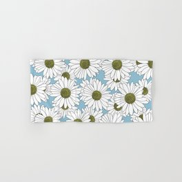 Daisy Blue Hand & Bath Towel