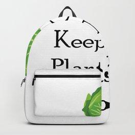 Vegetarian Funny Gift Backpack