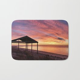Sunrise at Billy Goat Flat, Pine Point Yorke Peninsula Bath Mat