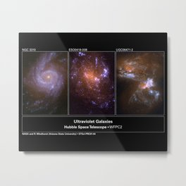 Hubble Space Telescope - Hubble ultraviolet view of nearby galaxies Metal Print