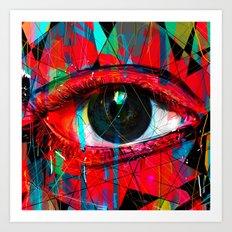 Useless Eyes Art Print