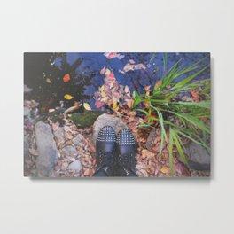 Wander in Autumn Metal Print