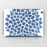 indigo iPad Cases featuring Indigo by Color and Form