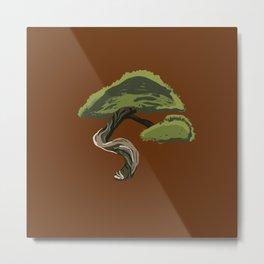 Bonsai Tree Metal Print