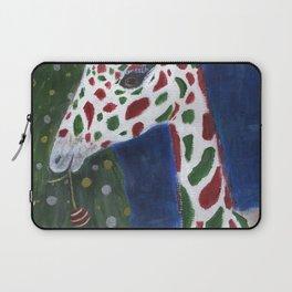 Christmas Giraffe Laptop Sleeve