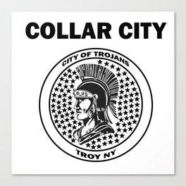 Collar City Canvas Print