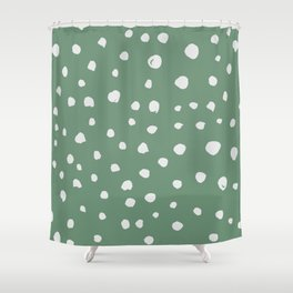 Dotted Lush Shower Curtain