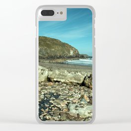 Kennack sands tank wall Clear iPhone Case