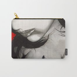 Smeared Carry-All Pouch