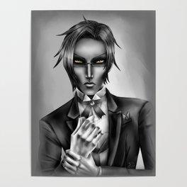 Monochrome Claude Faustus Poster