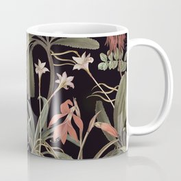 Dark Botanical Stravaganza Coffee Mug