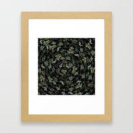 Circular Nature Framed Art Print