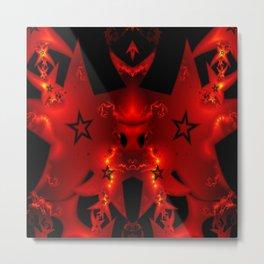 Star flame Metal Print
