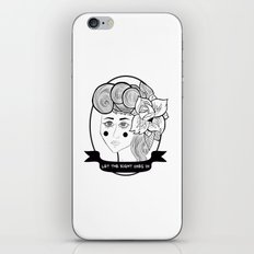Let the Right Ones In iPhone & iPod Skin
