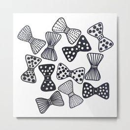 Happy Bow Day Metal Print