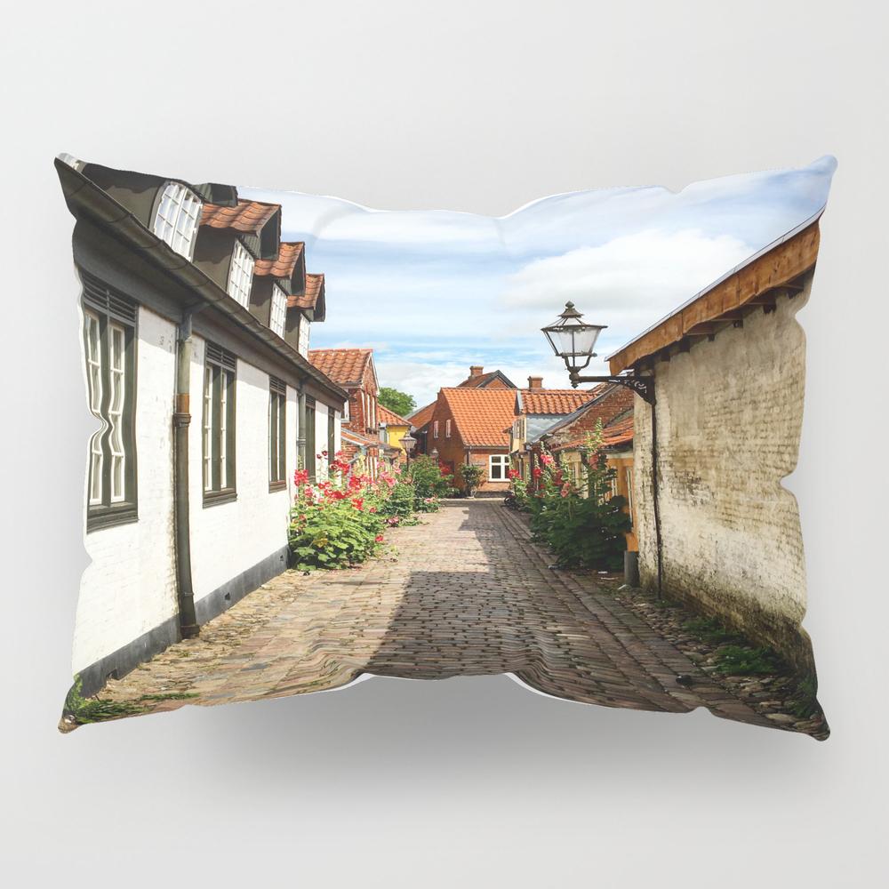 Narrow Streets Of Ribe Pillow Sham by Alantherock PSH8100941